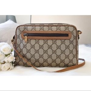 Gucci GG Monogram Crossbody Bag